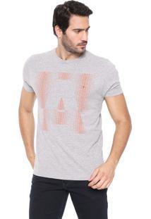 Camiseta Aramis Pontilhado Cinza