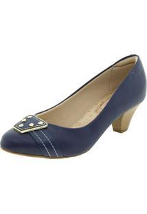 df6bf4086 Sapato Azul Marinho Conforto feminino | Starving