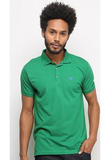 Camisa Polo Ellus 2Nd Floor Piquet Simples Masculina - Masculino-Verde Claro