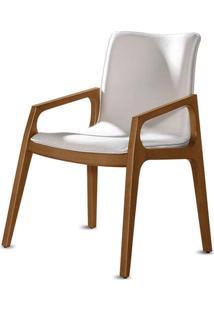 Cadeira Cristalle Com Braço Estilo Minimalista Destack Móveis Design By Ibanez Razzera