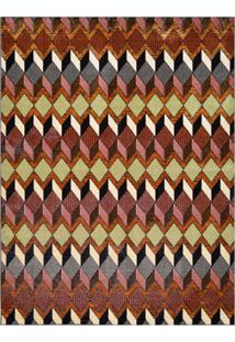 Tapete Marbella Chouilly Retangular (150X200Cm) Colorido