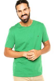 Camiseta Tommy Hilfiger Clean Verde