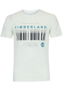 Camiseta Timberland Morse Code - Masculina - Branco