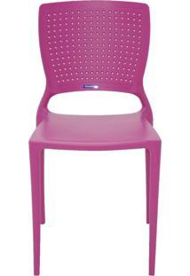 Cadeira Tramontina Safira 92048/060 Rosa Se