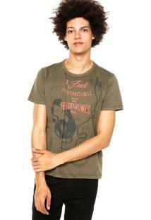 Camiseta Forum Estampa Verde