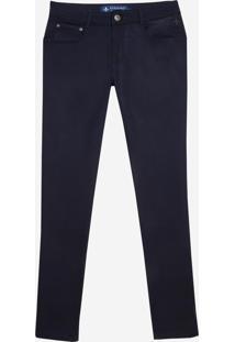 Calça Dudalina Jeans Sport Slim Fit Masculina (Generico, 42)
