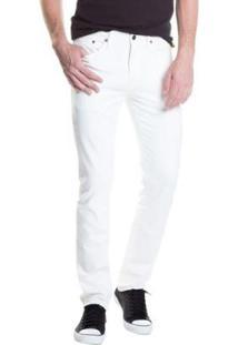 Calça Jeans Levis Masculino 511 Slim - Masculino-Branco