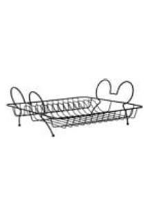 Escorredor De Pratos Mickey 38 Cm X 34 Cm - Arthi