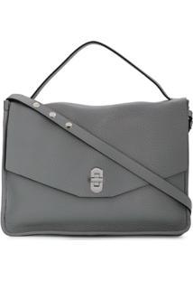 Coccinelle Taris Shoulder Bag - Cinza
