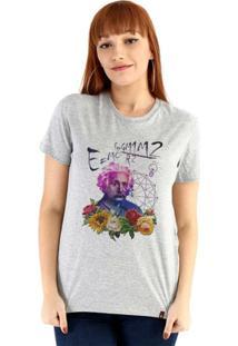 Baby Look Ouroboros Manga Curta Einstein'S Galaxy - Feminino