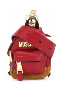 Moschino Pochete Mini - Vermelho