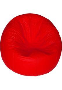 Puff Redondo Pop - Stay Puff - Vermelho