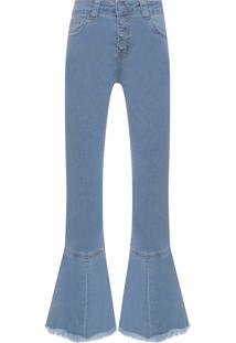 Calça Feminina Jeans Barbara Summer - Azul
