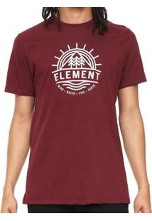 Camiseta Element Factor Ss Masculina - Masculino