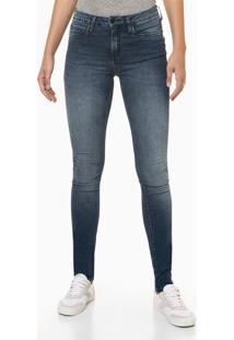 Calça Jeans Feminina Super Skinny Premium Azul Marinho Calvin Klein Jeans - 34