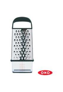 Ralador 4 Lados Com Dispenser Em Aco Inox - Oxo