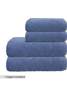 Toalha De Banho Pixel- Azul- 70X140Cm- Camesacamesa