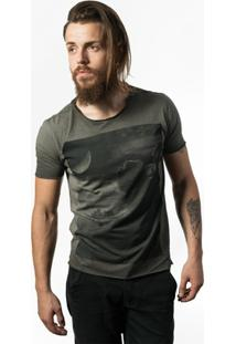 Camiseta Estonada Skull Lab Clouds - Masculino