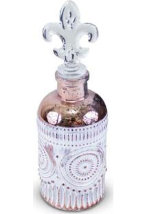 Garrafa Perfumaria Decorativa Antique Iii Cobre