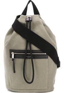 Saint Laurent City Sailor Backpack - Verde