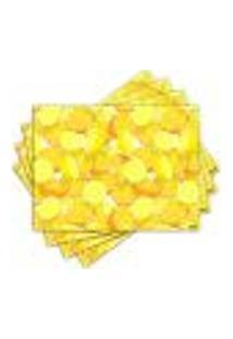 Jogo Americano - Limões Com 4 Peças - 232Jo