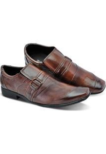 Sapato Social Masculino Em Couro Leoppé - Masculino
