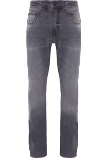 Calça Masculina Jeans Skinny Five Pockets - Cinza