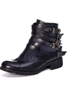 Bota Feminina London Preto