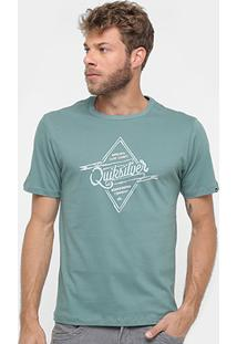 Camiseta Quiksilver Básica Surf Goods Masculina - Masculino