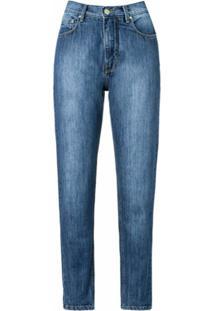 Amapô Calça Mom´S Jeans - Azul