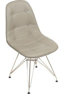Cadeira Eames Botonê- Fendi & Cobre- 83X44X39Cm-Or Design