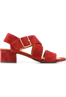 Chie Mihara Sandália Com Tiras Cruzadas - Vermelho