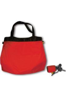 Bolsa Sacola De Compras Sea To Summit Ultrasil Shopping Bag 25L Vermelho
