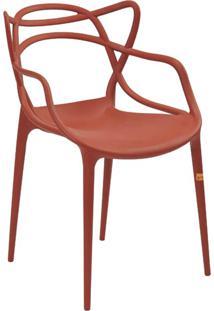 Cadeira Allegra Laranja Telha Rivatti - Laranja - Dafiti