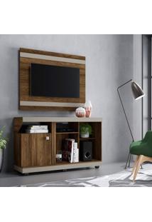 Rack Com Painel Para Tv Até 42 Polegadas 1 Porta Liz Colibri Móveis
