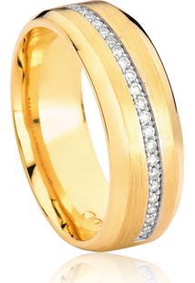 Aliança De Casamento Em Ouro 18K 7,1Mm