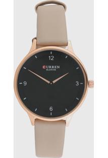 Relógio Curren C9039L /Rosa - Kanui