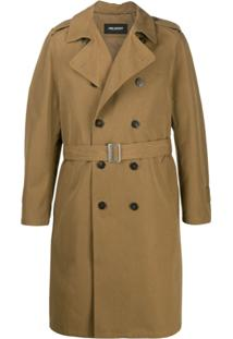 Neil Barrett Double-Breasted Trench Coat - Neutro