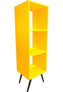 Estante Casa Da Mãe Joana Vertical Amarela