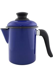 Leiteira 10Cm Azul Esmaltada Ewel Leiteira 10 - Ewel (Azul)