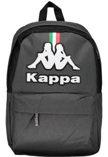 Mochila Kappa Itália 17 Grafite