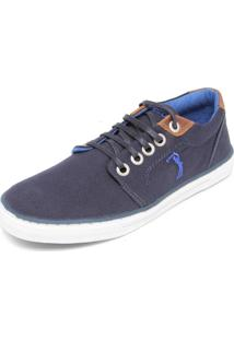 Tênis Aleatory Bordado Azul