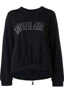 d36c6b44c9 ... Emporio Armani Printed Logo Sweatshirt - Preto