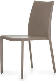 Cadeira Bali Estofada Couro Ecologico Fendi - 22716 - Sun House