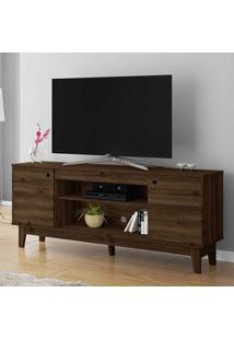 Rack Para Tv Até 60 Polegadas 2 Portas Malibu Capuccino - Móveis Germai