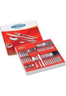 Faqueiro Siena 42 Peças Aço Inox 5109-120 Brinox