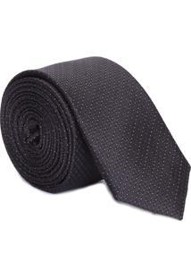 Gravata Extra Slim - Preto