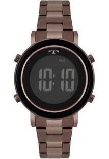 Relógio Technos Trend 38Mm Aço Feminino - Feminino-Marrom