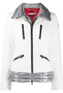 Vuarnet Jaqueta De Ski Matelassê - Branco