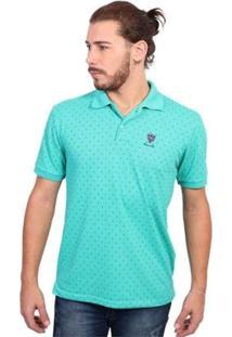 Camisa Polo New York Polo Club Full Print Masculina - Masculino